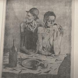 פבלו פיקאסו: יצירות נבחרות מאוסף המחלקה לרישומים והדפסים