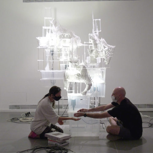 """סיפור הקמתה של תערוכה: """"ענבל הופמן: פסגות היומיום"""""""